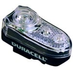 Duracell 3 LED cykel forlygte cykellygte