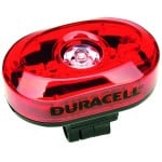 Duracell 5 LED cykel baglygte cykellygte