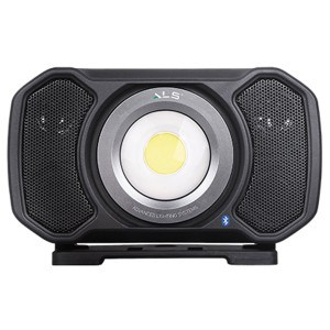 ALS AUD202H Genopladelig LED Arbejdslampe med Bluetooth højttaler