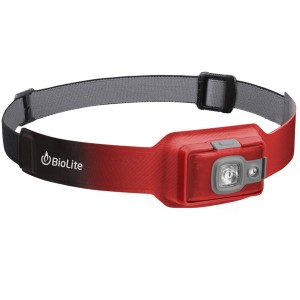 Image of   BioLite Headlamp 200 Genopladelig Pandelampe - Ember Red