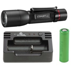 Image of   COAST HX5 + Nitecore i1 USB oplader + 3.6V Li-ion batteri