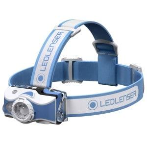 led lenser Led lenser mh7 genopladelig pandelampe - blå på lommelygtesalg.dk