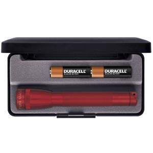 maglite Aa box mini maglite rød fra lommelygtesalg.dk