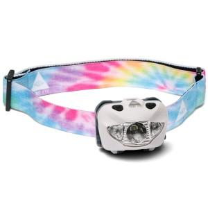 third eye headlamps Hvid tie dye te14 headlamps third eye fra lommelygtesalg.dk