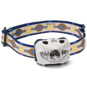 third eye headlamps – Third eye headlamps te14 - hvid - woven på lommelygtesalg.dk