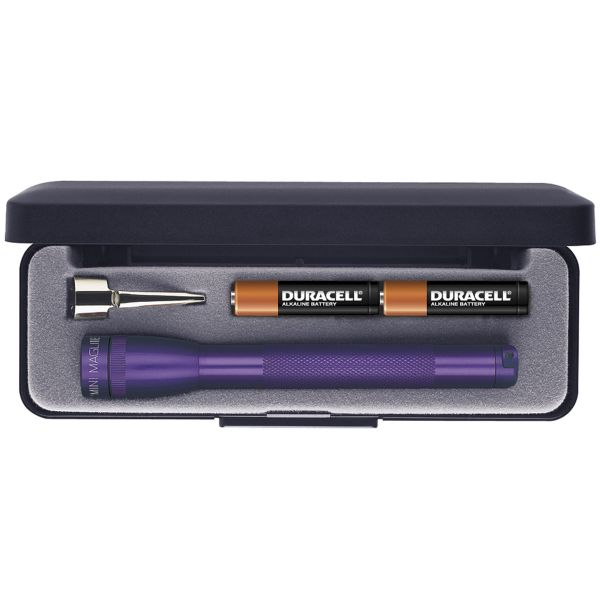 Maglite M3A982 Mini lommelygte AAA Box - Violet